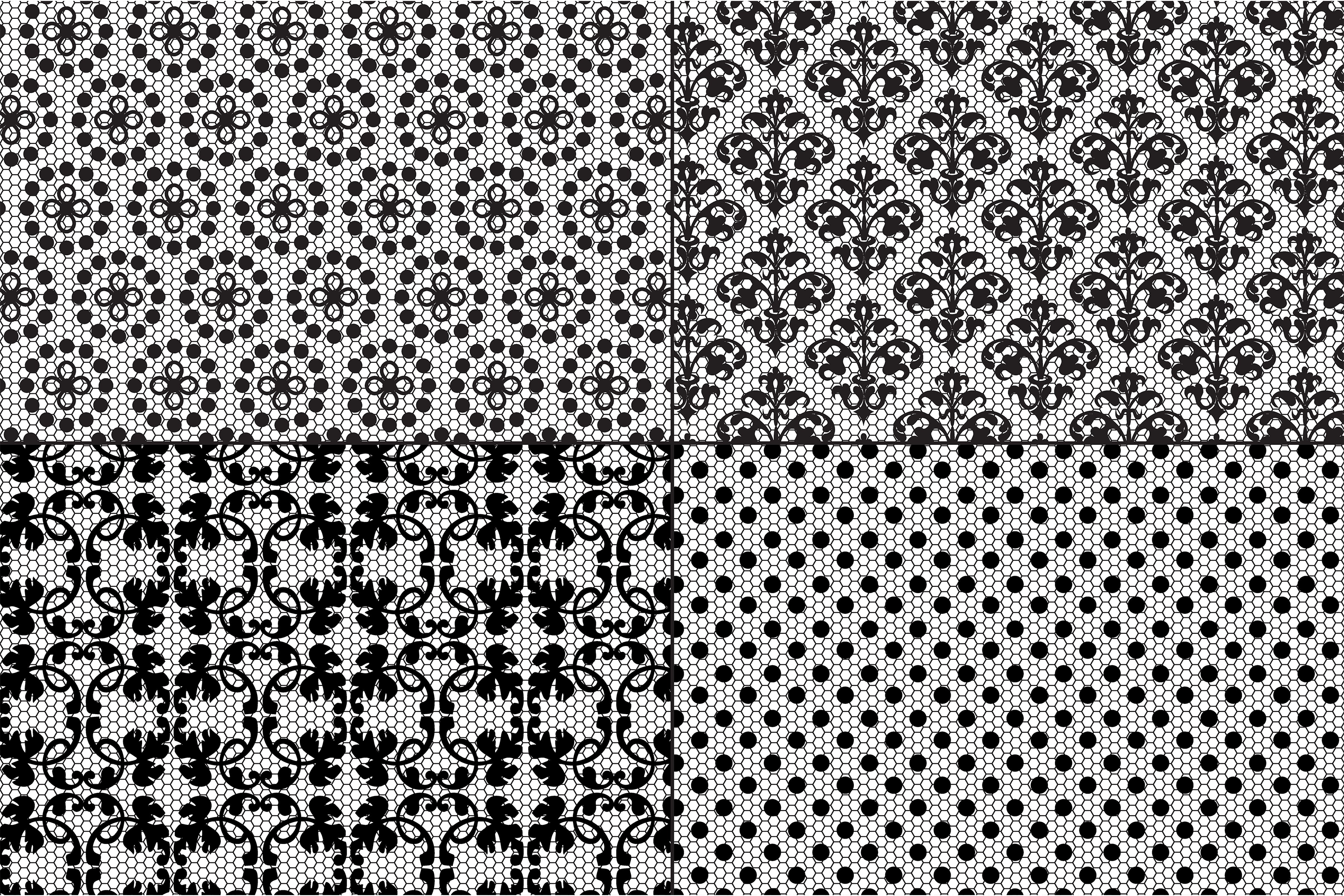 Black Lace Patterns example image 2