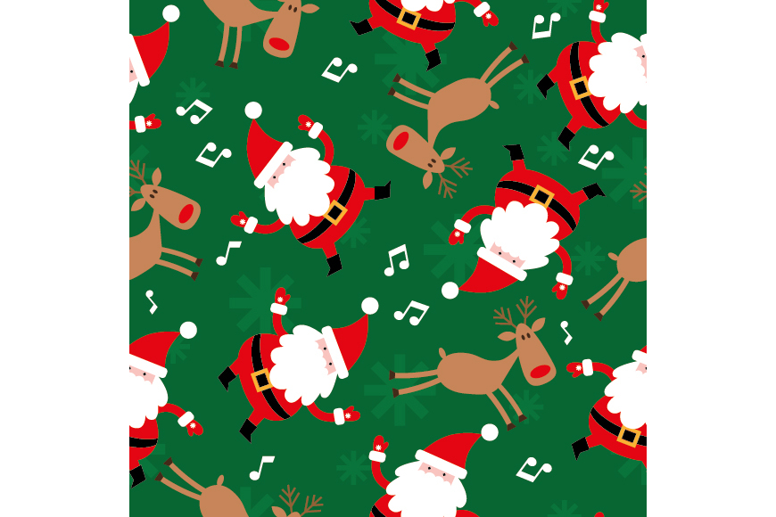 Christmas Patterns Collection. 12 of the jpeg files in resolution 4167*4167 px and 12 files eps8. example image 10