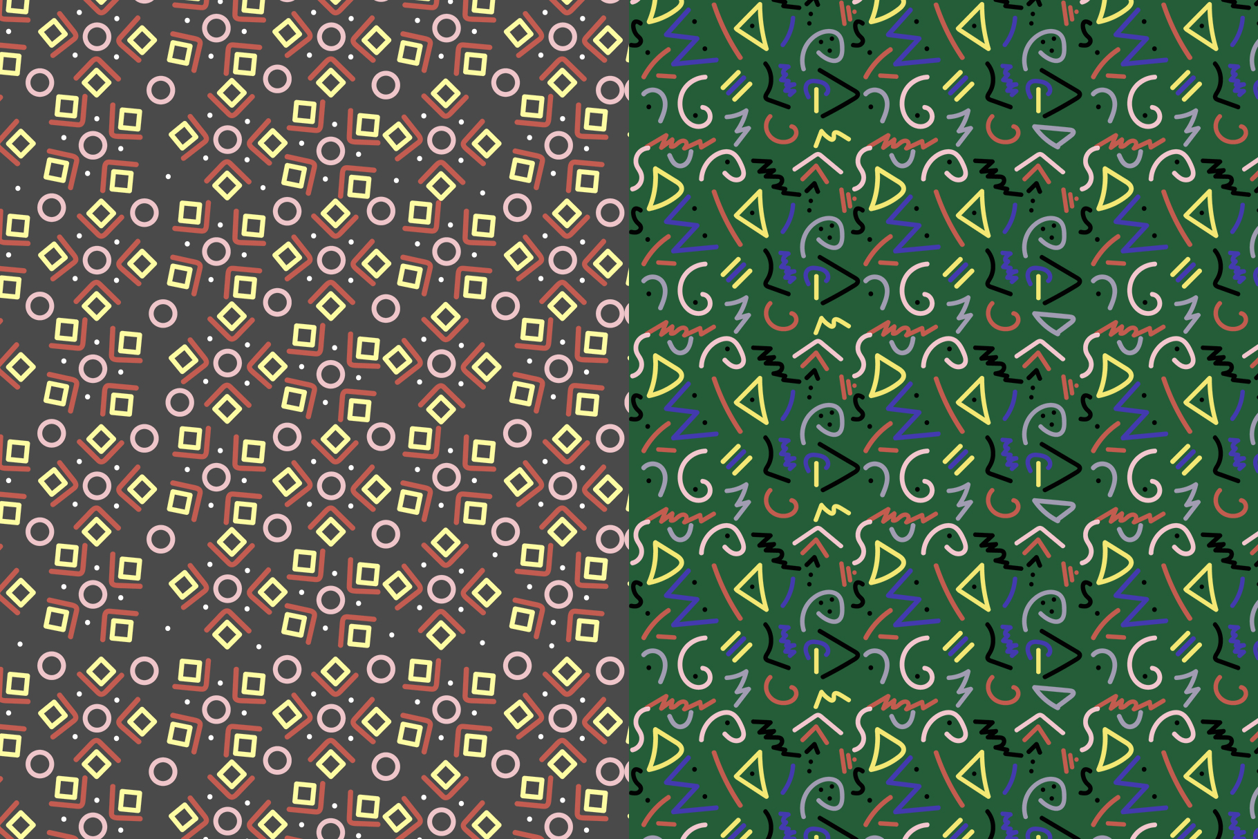 Abstract Geometric Patterns example image 4