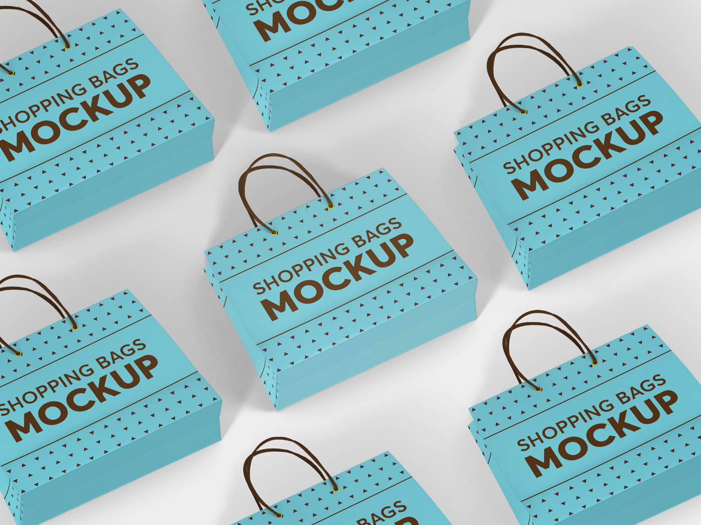 Shopping Bag Mockups V2 example image 12
