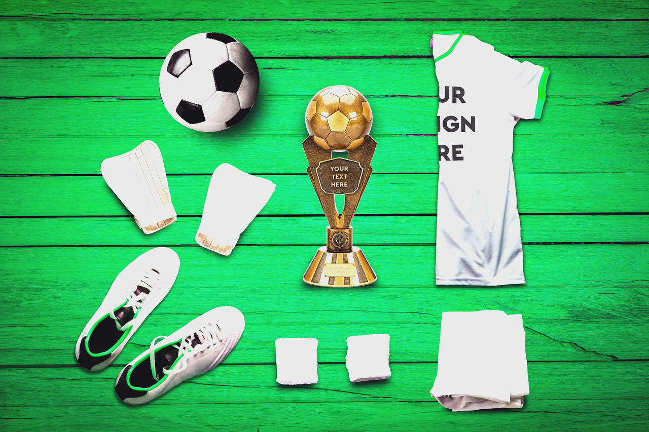 Soccer Scene /Mock-up Creator example image 2
