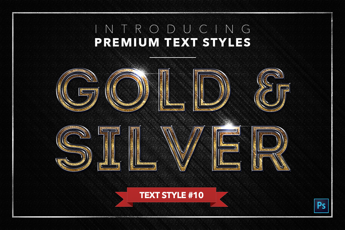 Gold & Silver #3 - 15 Text Styles example image 10