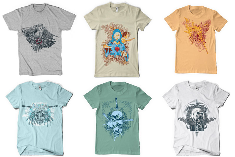 100 T-shirt Designs Vol 2 example image 9
