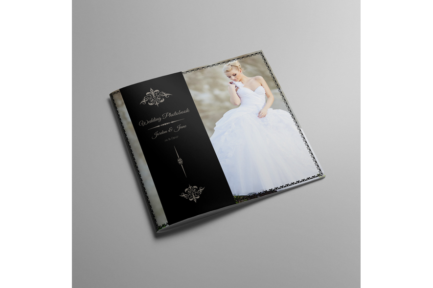 30x30 Square Wedding Photobook example image 2