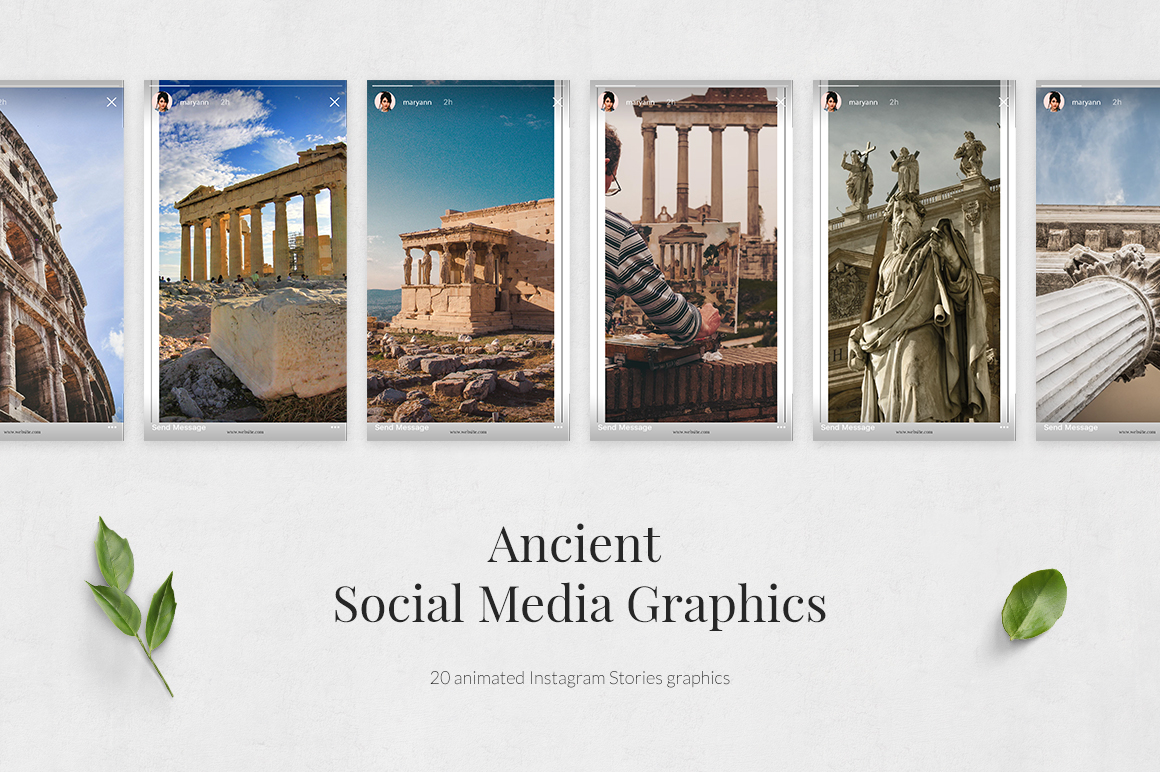 Ancient Animated Instagram Stories example image 2