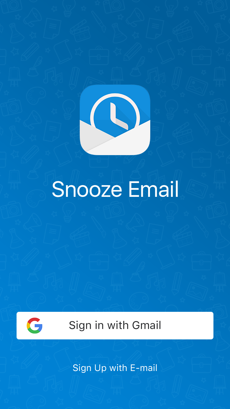 Snooze Mail UI Graphic example image 2