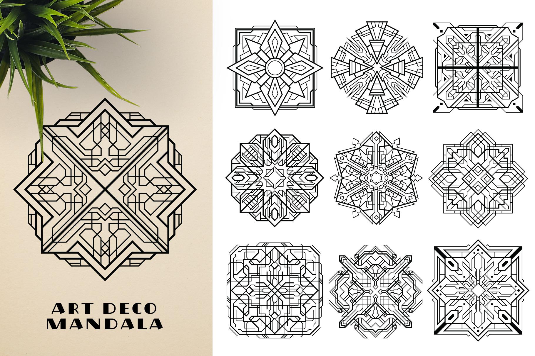 300 Vector Mandala Ornaments example image 15