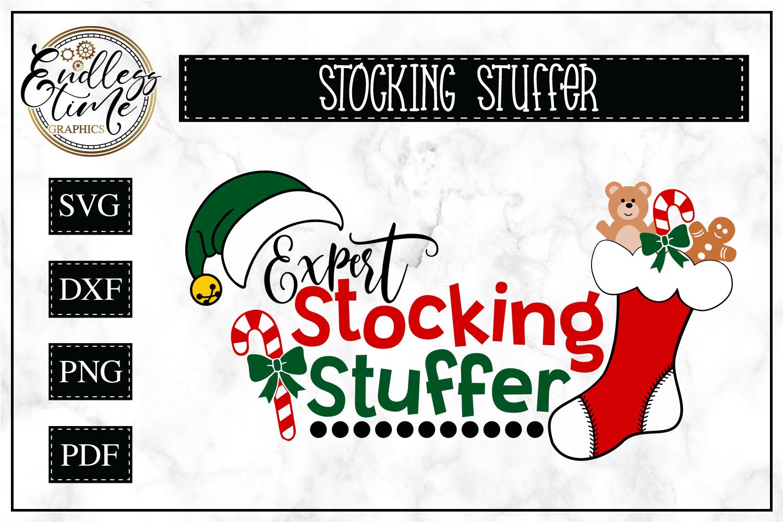Expert Stocking Stuffer -- Funny Christmas SVG example image 1