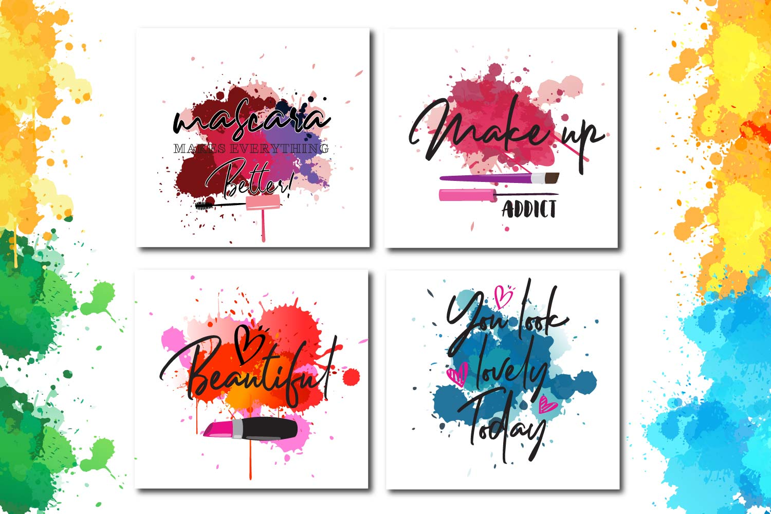 Makeup paint splash Quotes example image 2
