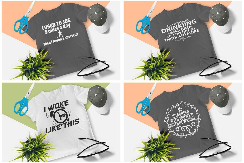 200 Printready Tshirt Design Mega Bundle example image 25