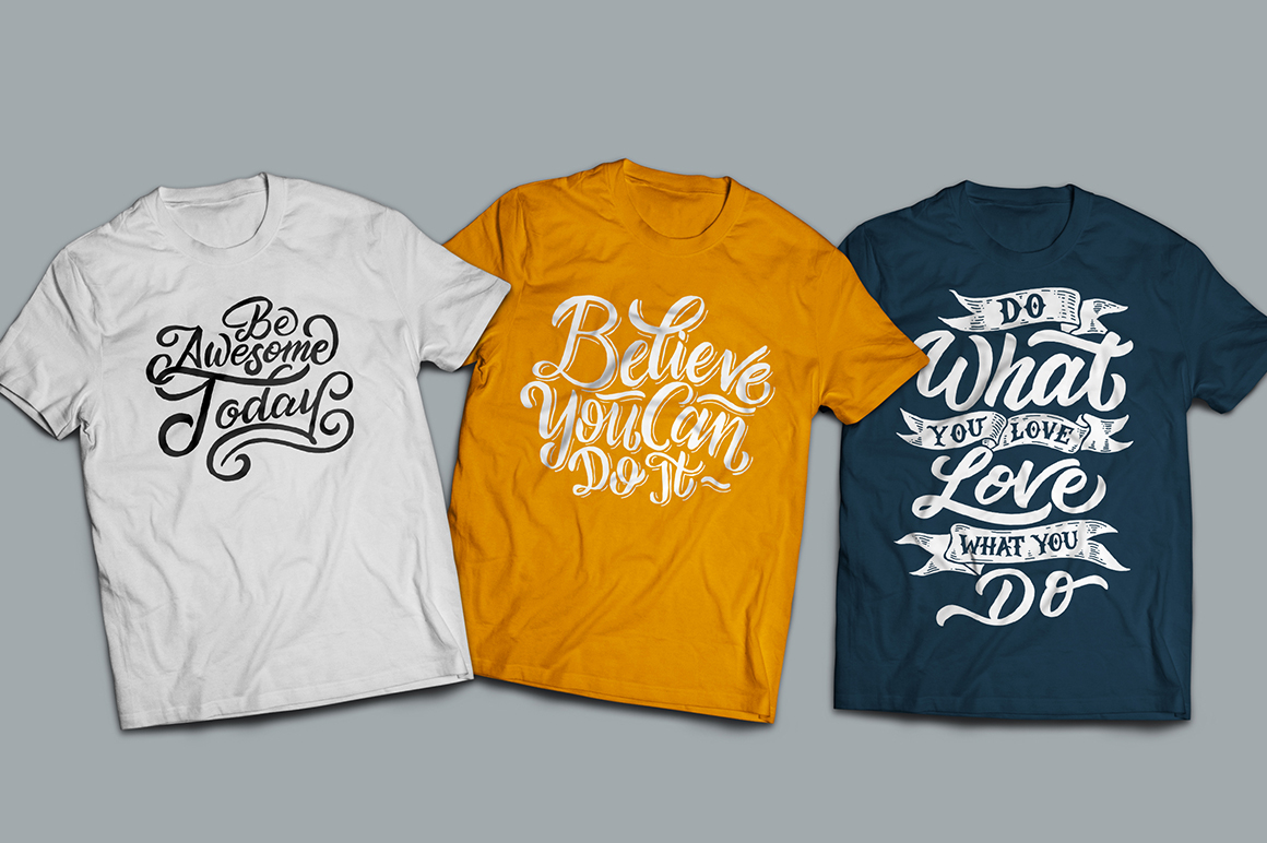 SVG Bundle - Hand Lettering Motivational Quotes Vol 2 example image 8