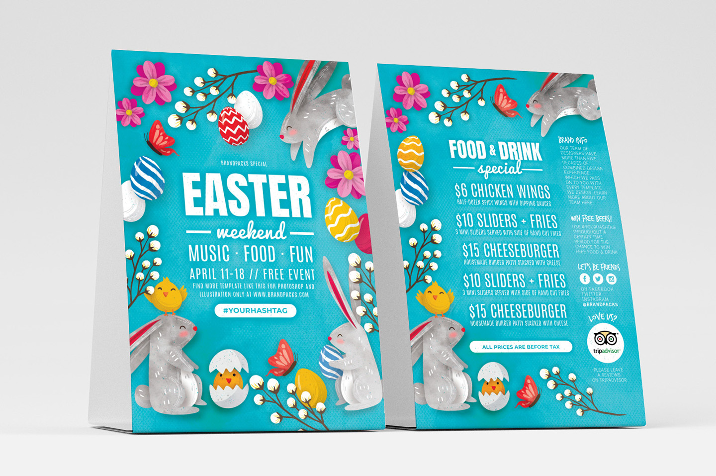Easter Flyer Templates example image 3