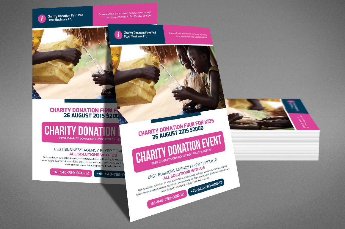 Charity Donation Flyer example image 4