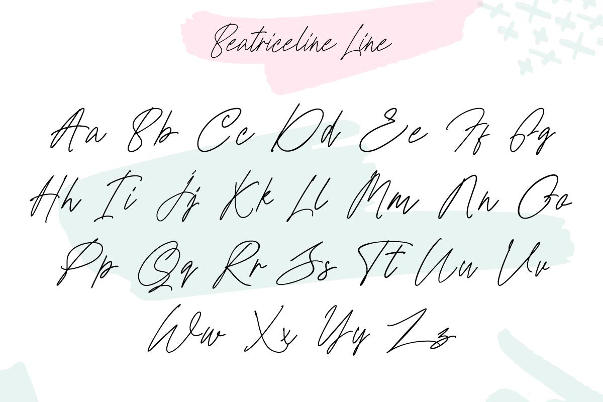 Beatriceline Monoline example image 3