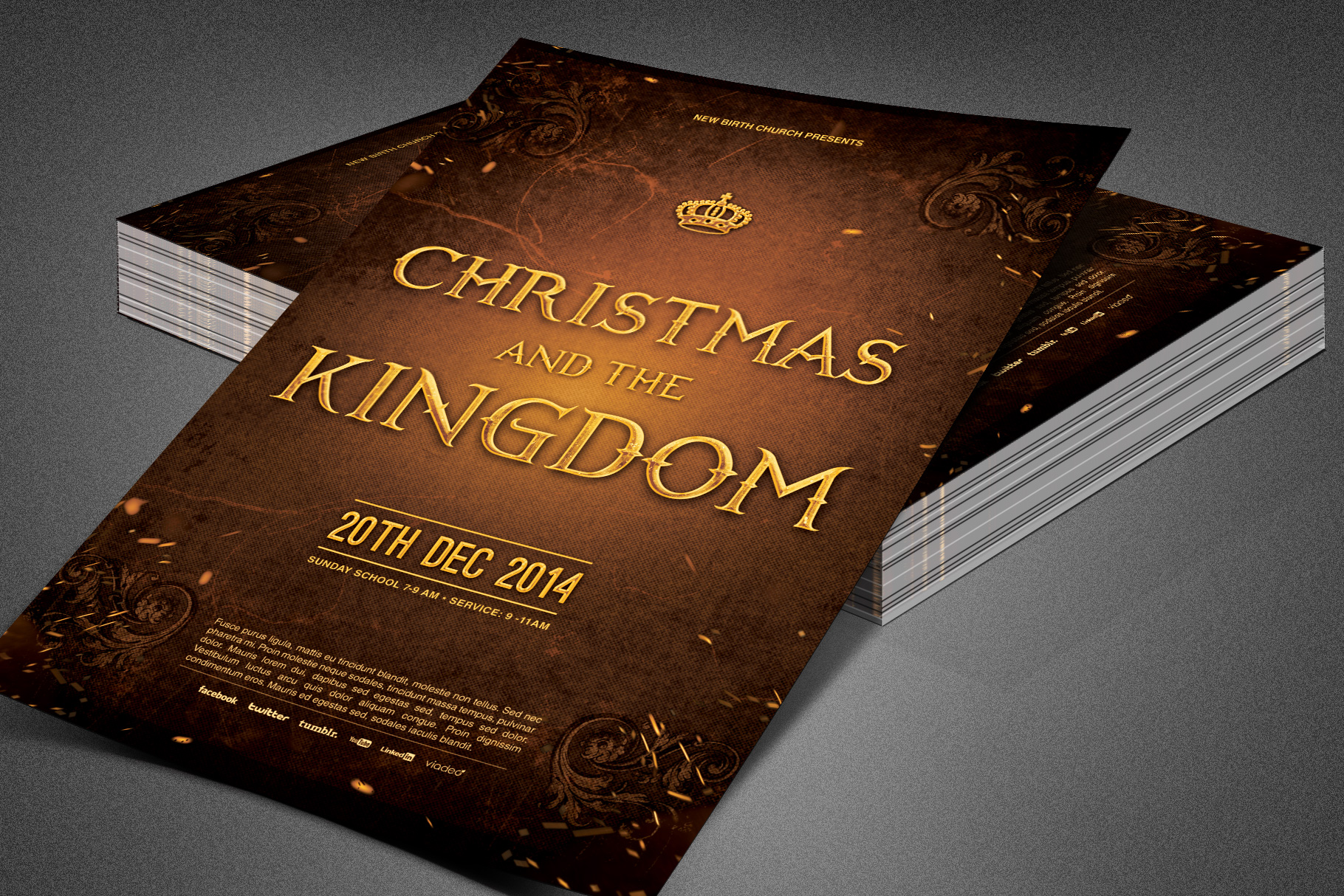 Christmas and the Kingdom Flyer example image 6