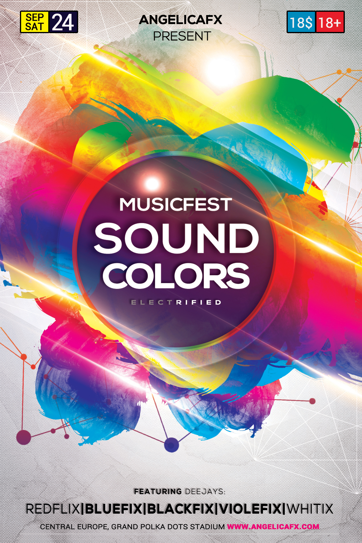 Music Fest Sound Colors example image 2