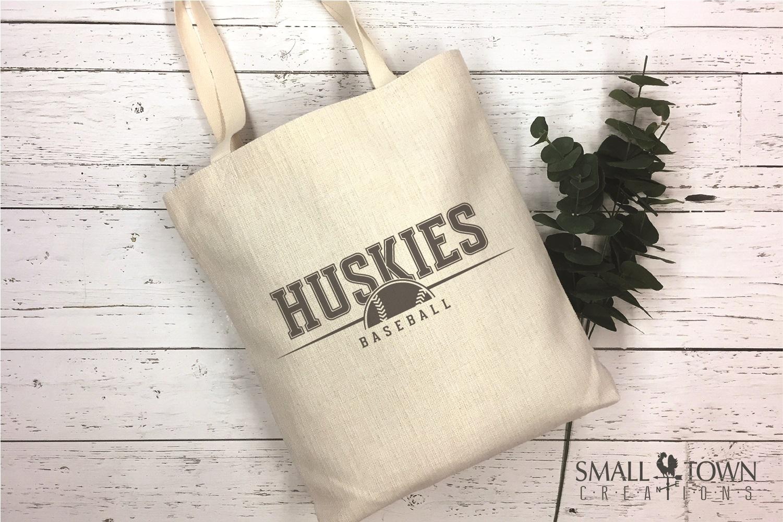 Huskies, Huskies Baseball, Team, logo, PRINT, CUT & DESIGN example image 4