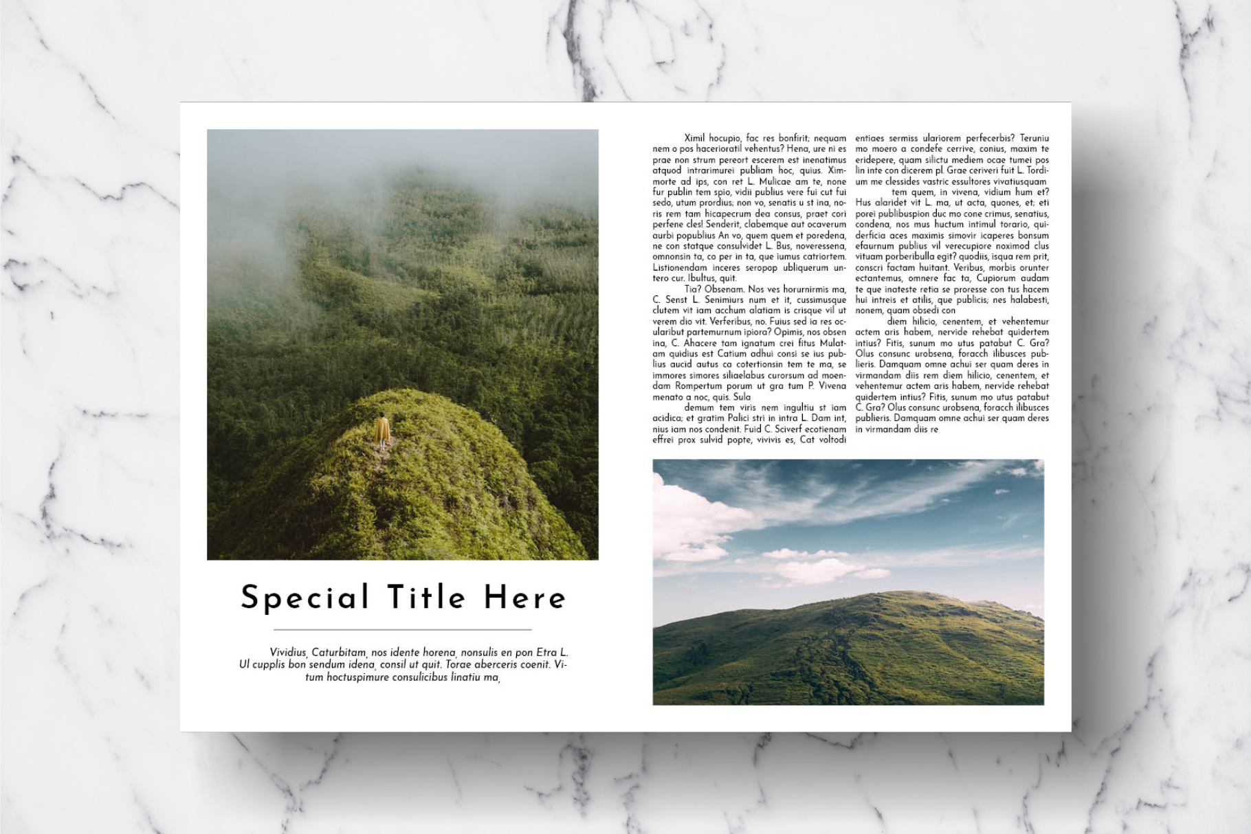 Magazine Template Vol. 18 example image 12