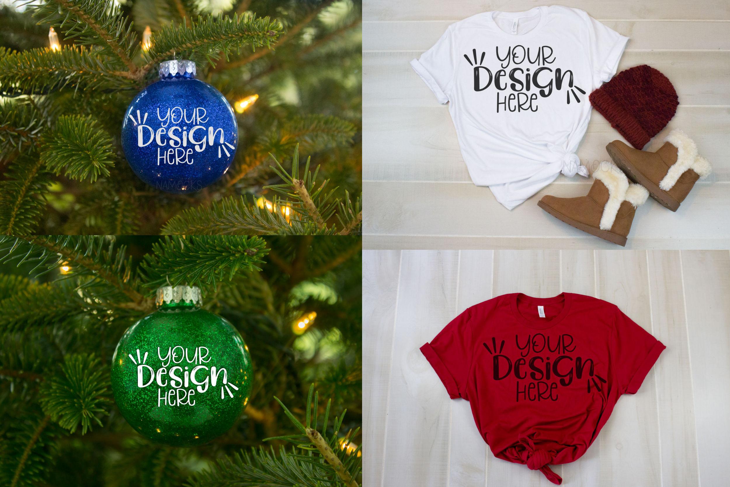 The Christmas Bundle - 30 Designs And 5 Mockups! example image 5
