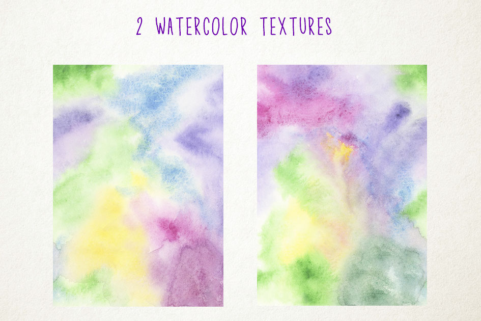Watercolor Cookies Clipart, Unicorn Cookies Clip Art example image 5