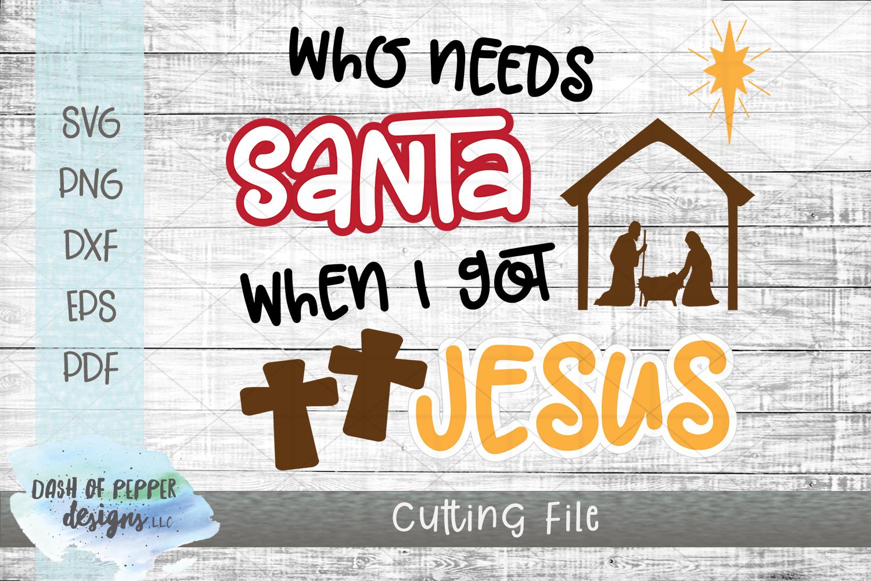 Mini Religious Christmas Bundle II - 5 SVG Designs example image 6