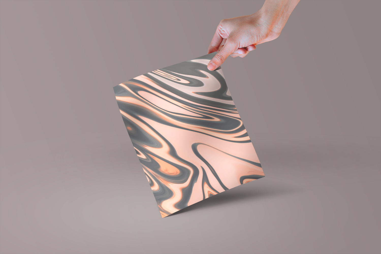 Pastel Marble Digital Paper, Scrapbooking, Textures example image 2