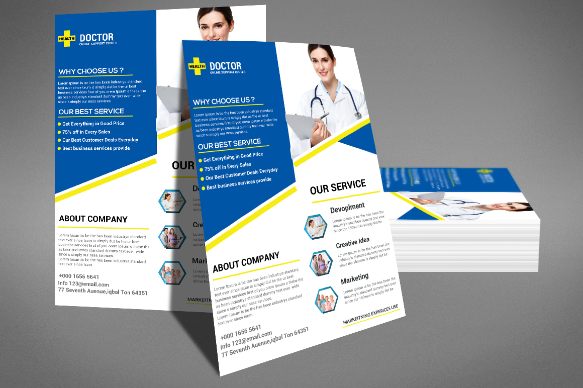 Doctor Flyer example image 3