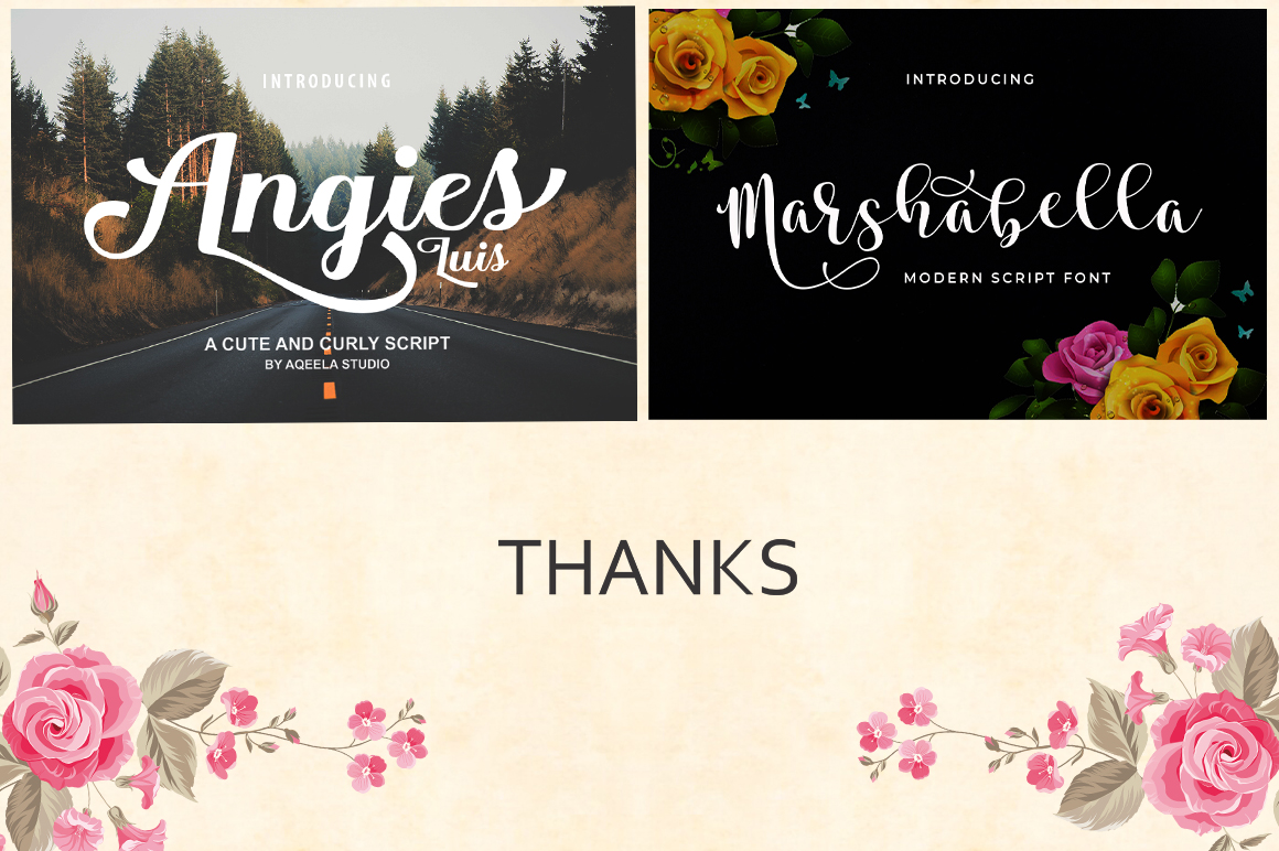 FONT BUNDLE COLLECTION example image 7