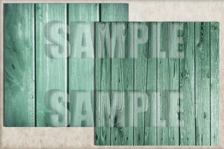 Turquoise Wood Digital Paper, Digital Background example image 3