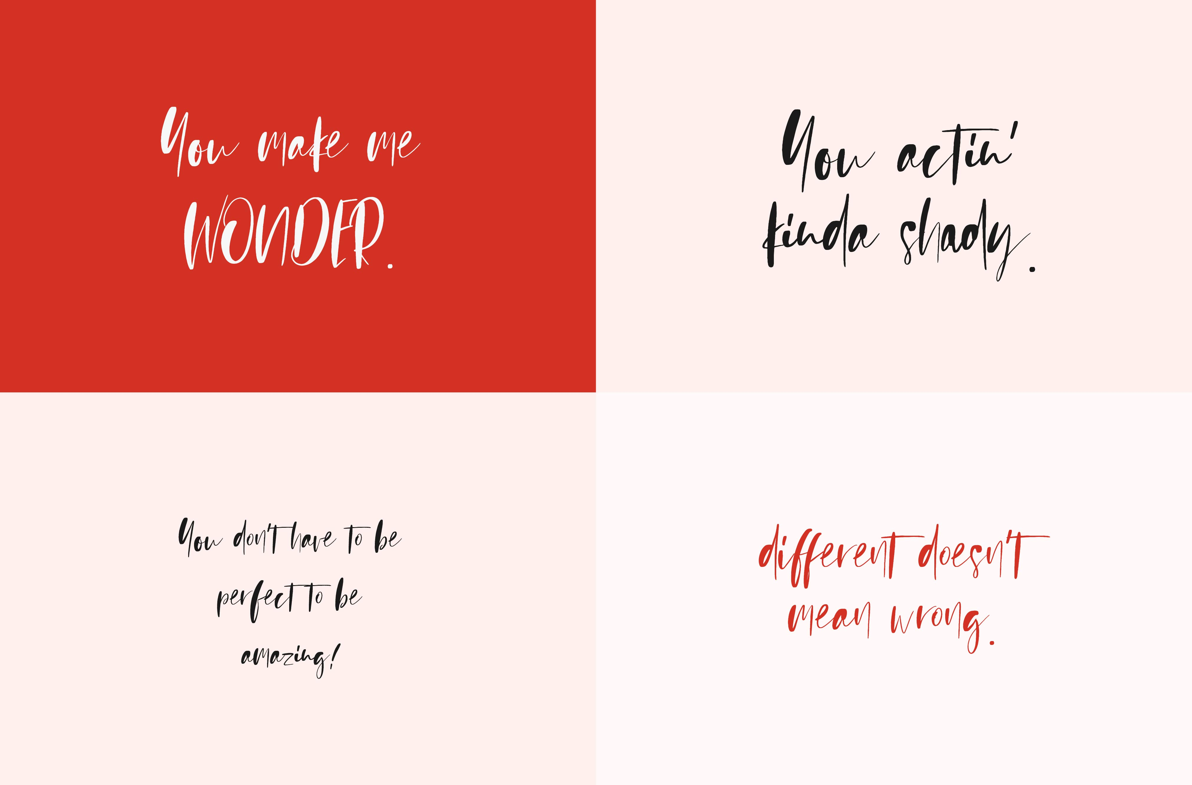 Sienna Signature Font + Extras example image 6