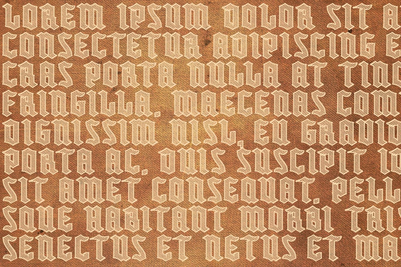 Buntisland Typeface Family example image 4