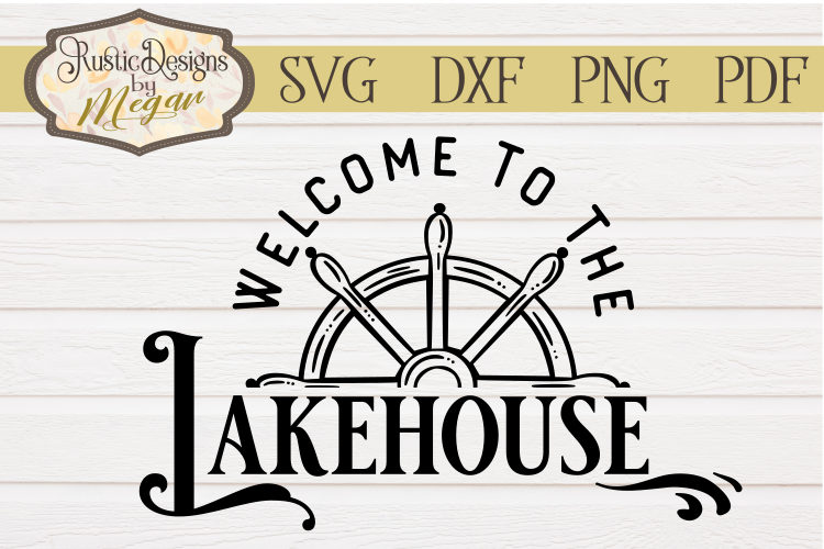 Welcome to the Lakehouse Wheel SVG cut file example image 1