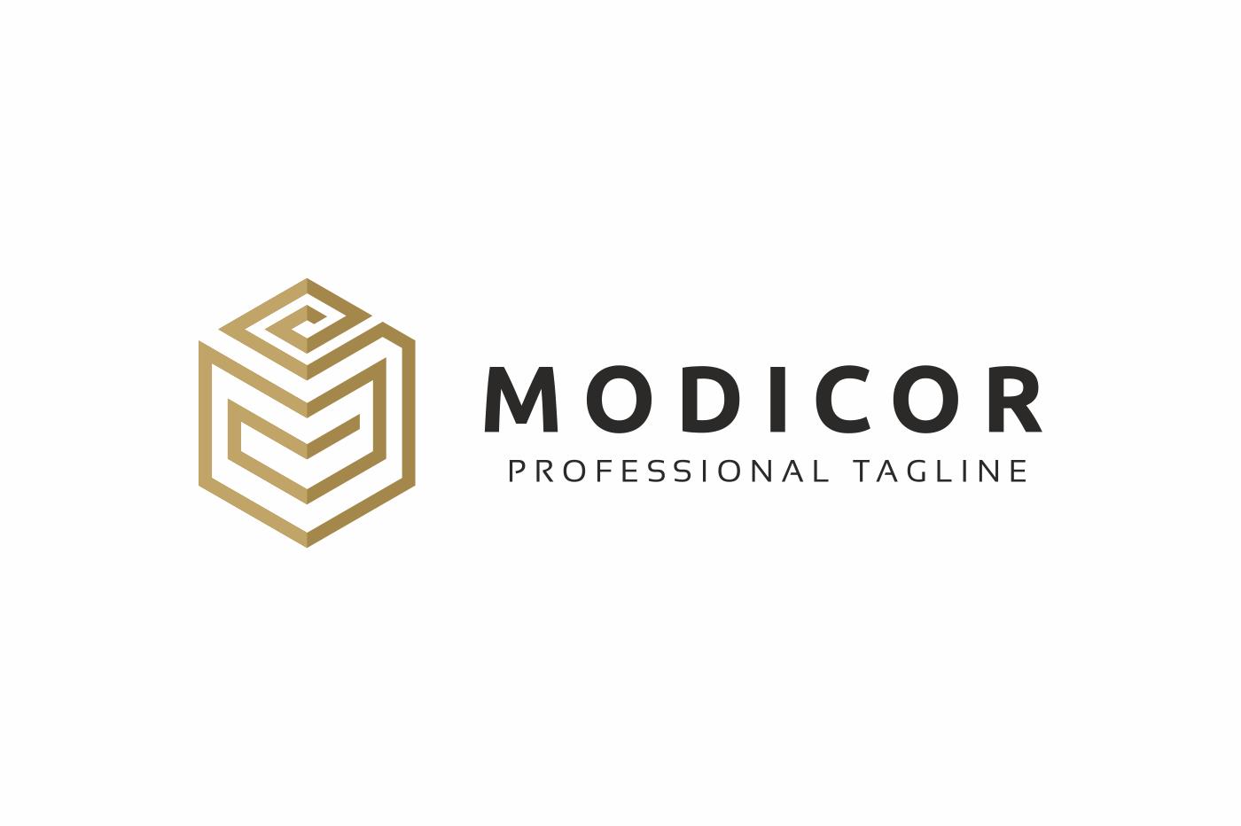 Modicor M Letter Logo example image 3