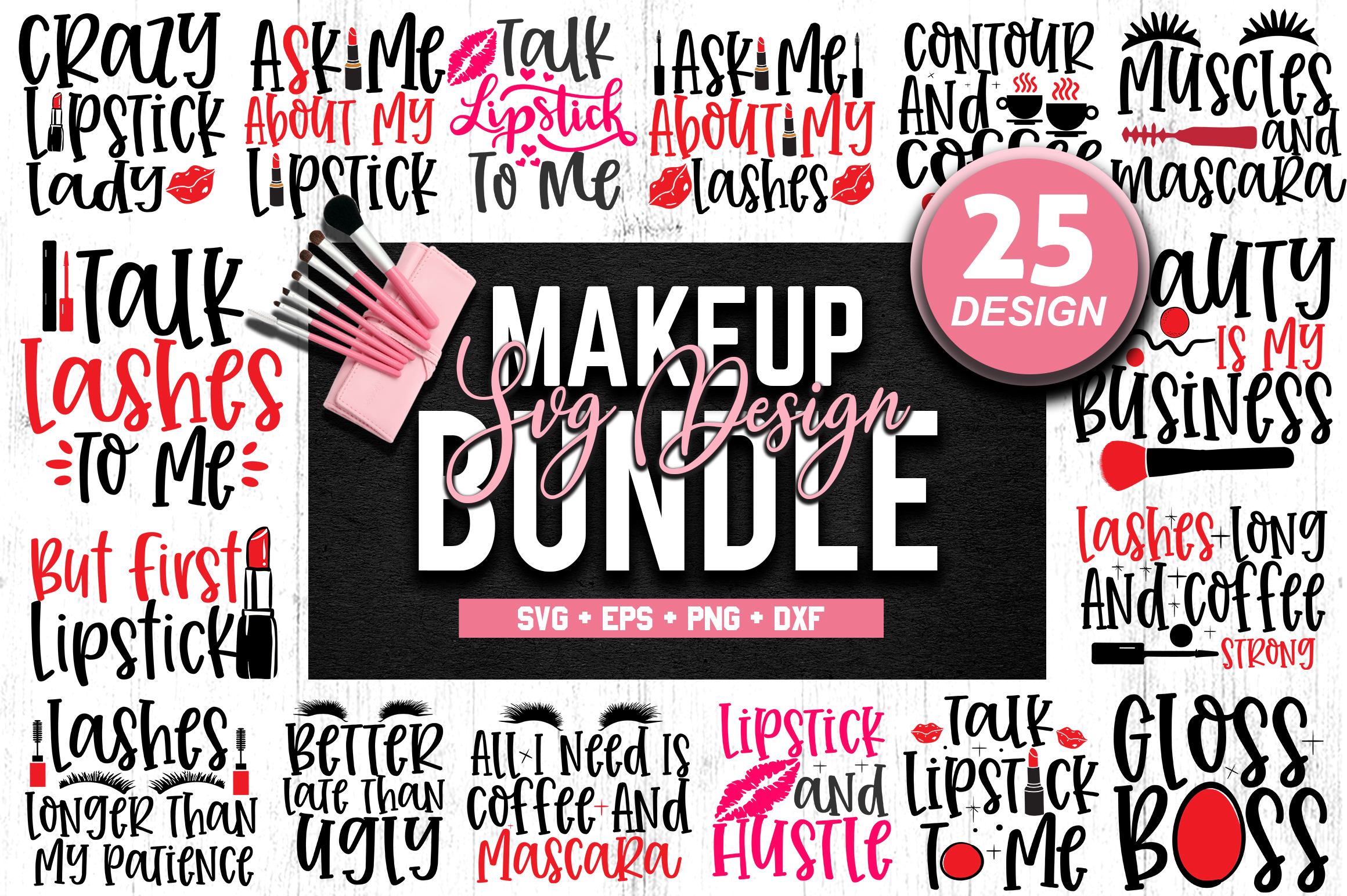 510 SVG DESIGN THE MIGHTY BUNDLE |32 DIFFERENT BUNDLES example image 10
