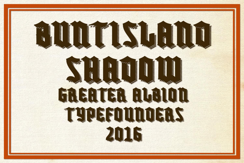 Buntisland Typeface Family example image 14