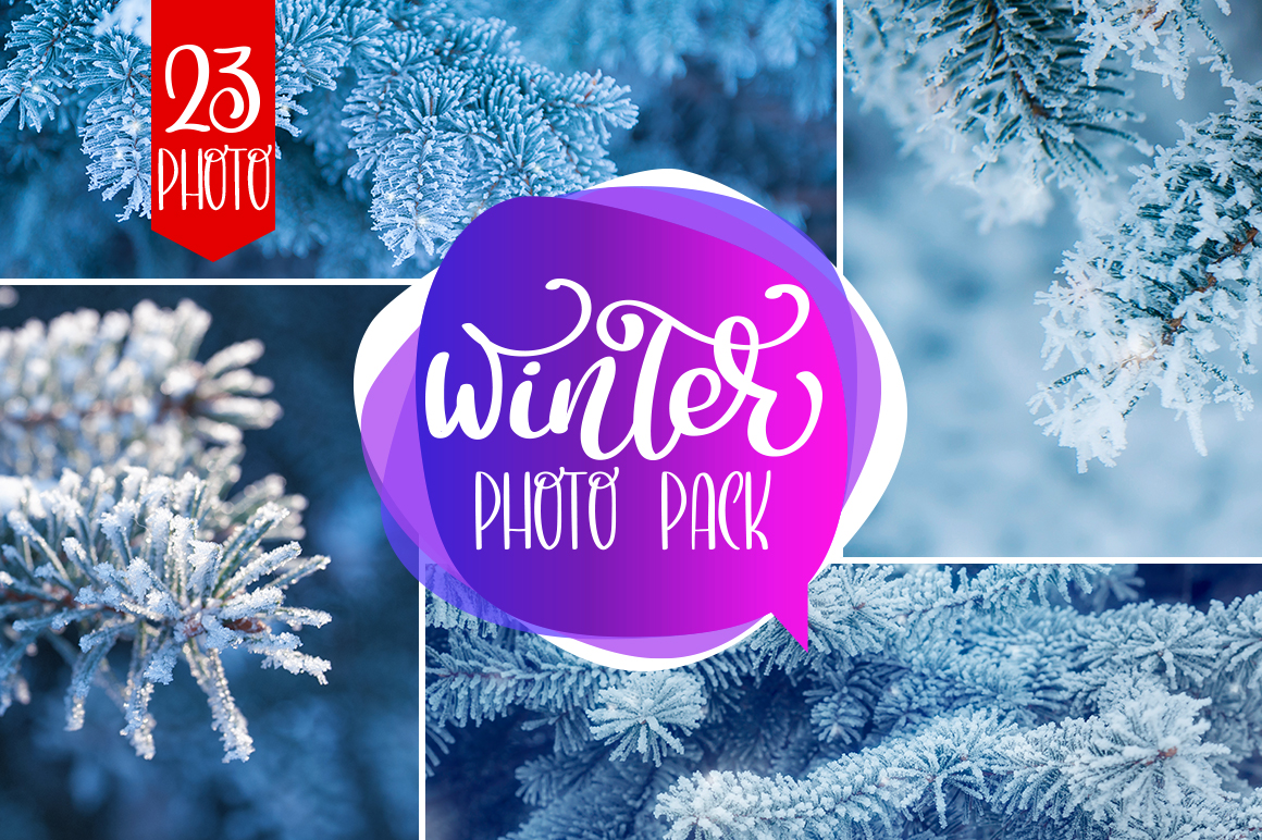 Winter Photo Pack example image 1