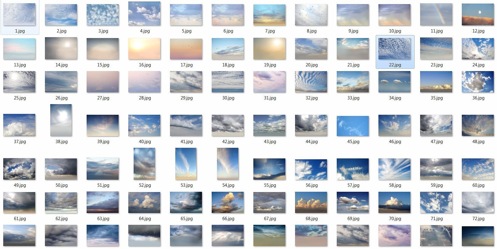 250 Sky Photo Overlays example image 7
