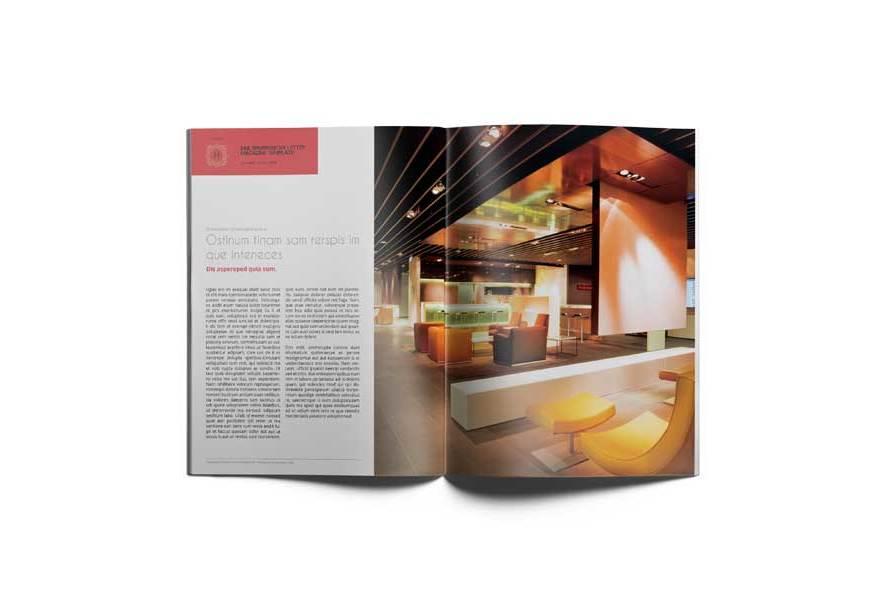 Multipurpose US Letter Magazine Template example image 3