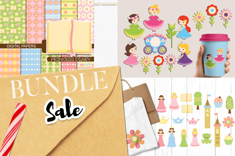 Just For Girls Clip Art Illustrations Huge Bundle example image 12