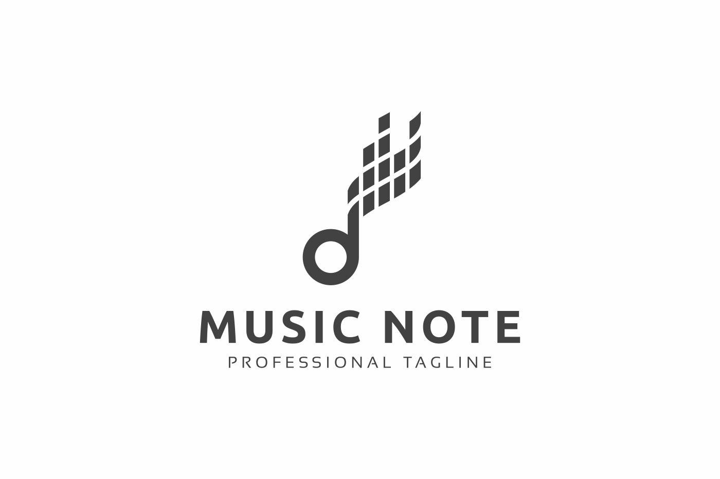 Music Note Logo example image 2