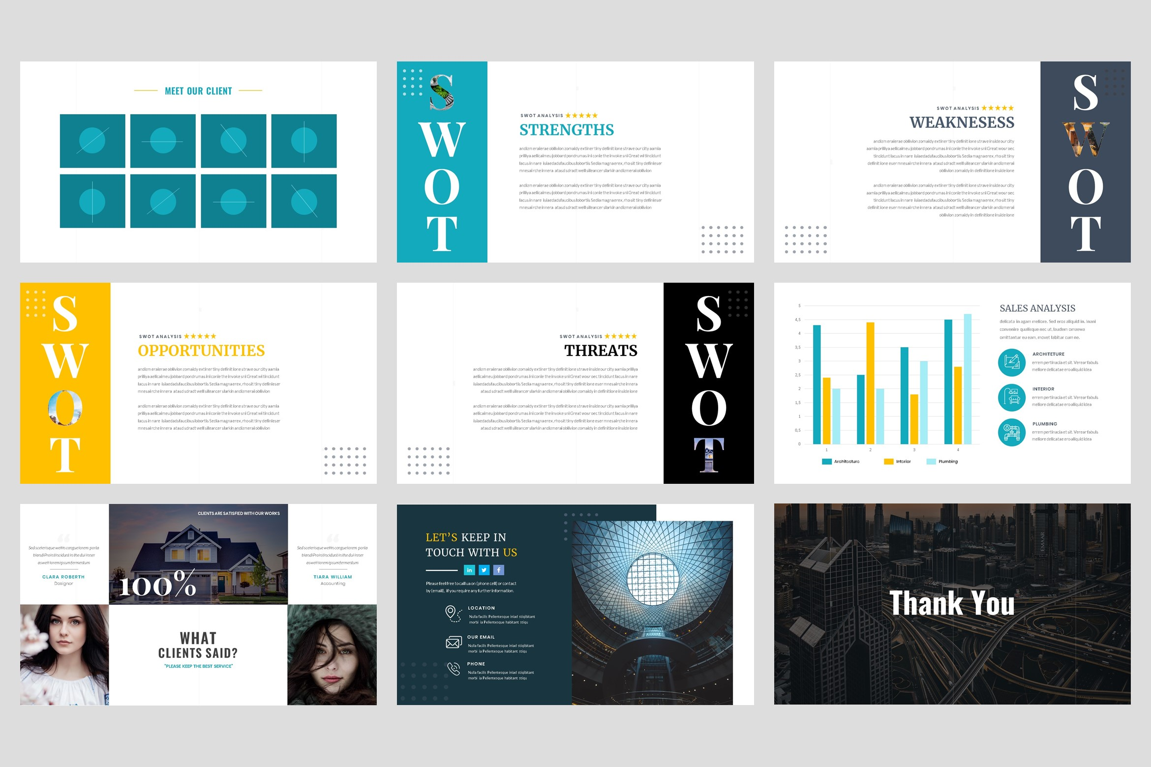 Architecture - Interior keynote Template example image 5