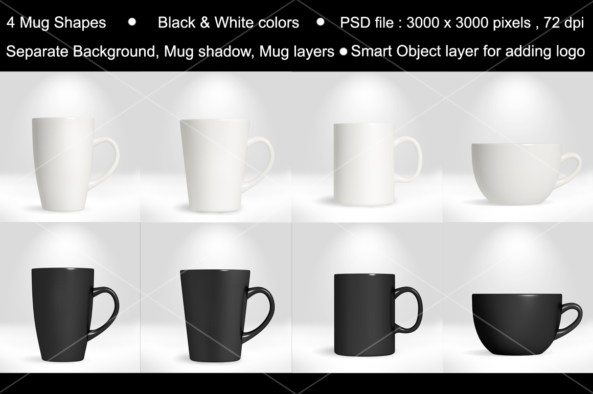 Coffee Mug/Cup Mockup vol.1 example image 3