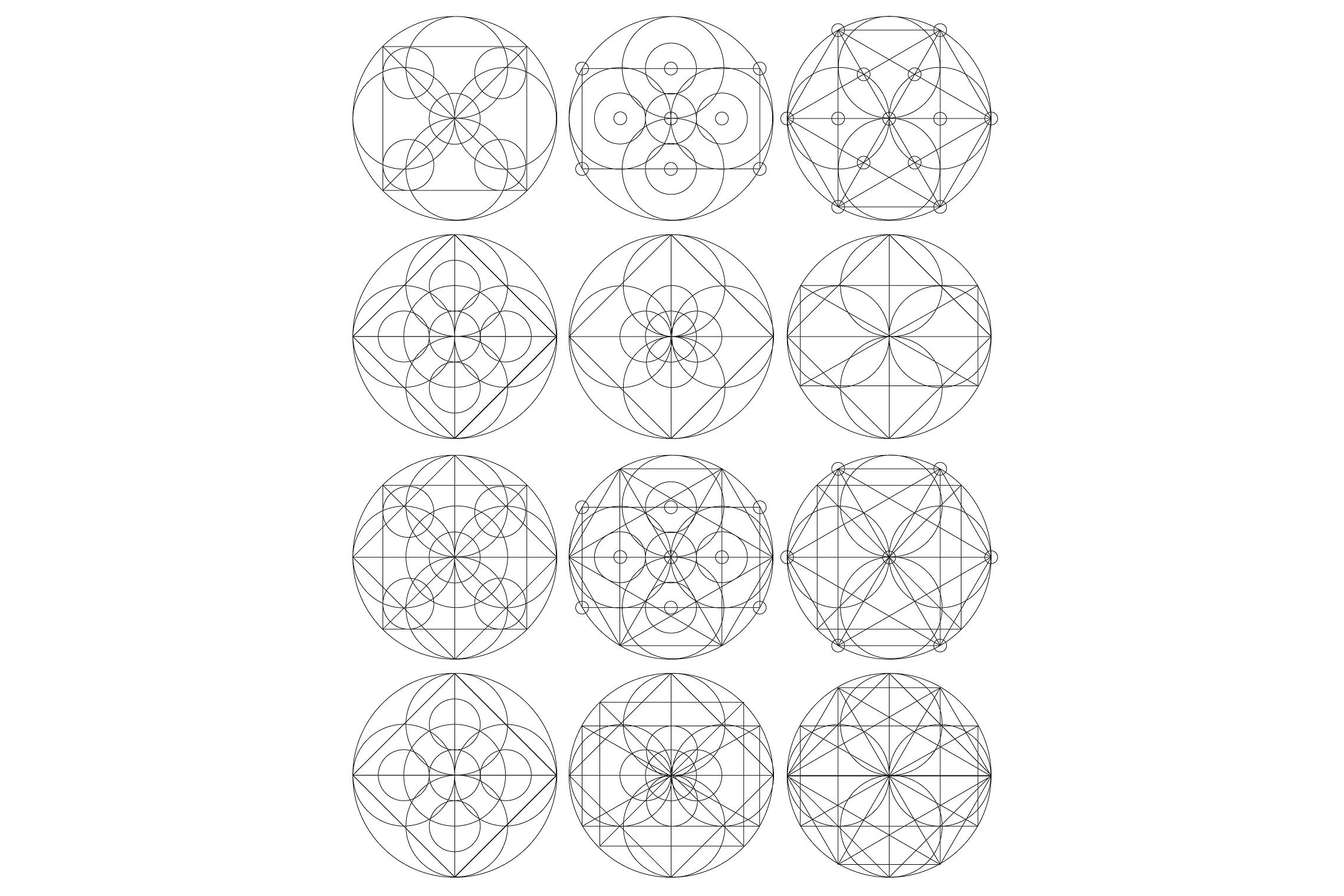 12 Talisman Geometric Vector Shapes example image 2