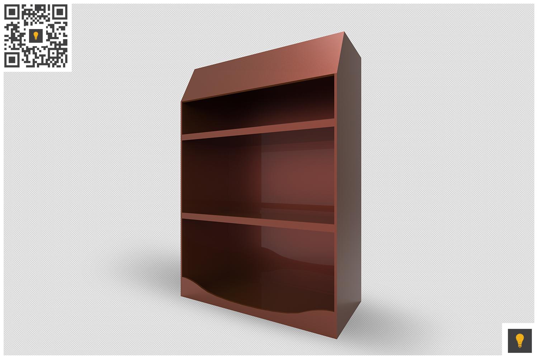 Promotional Shelf Display 3D Render example image 7