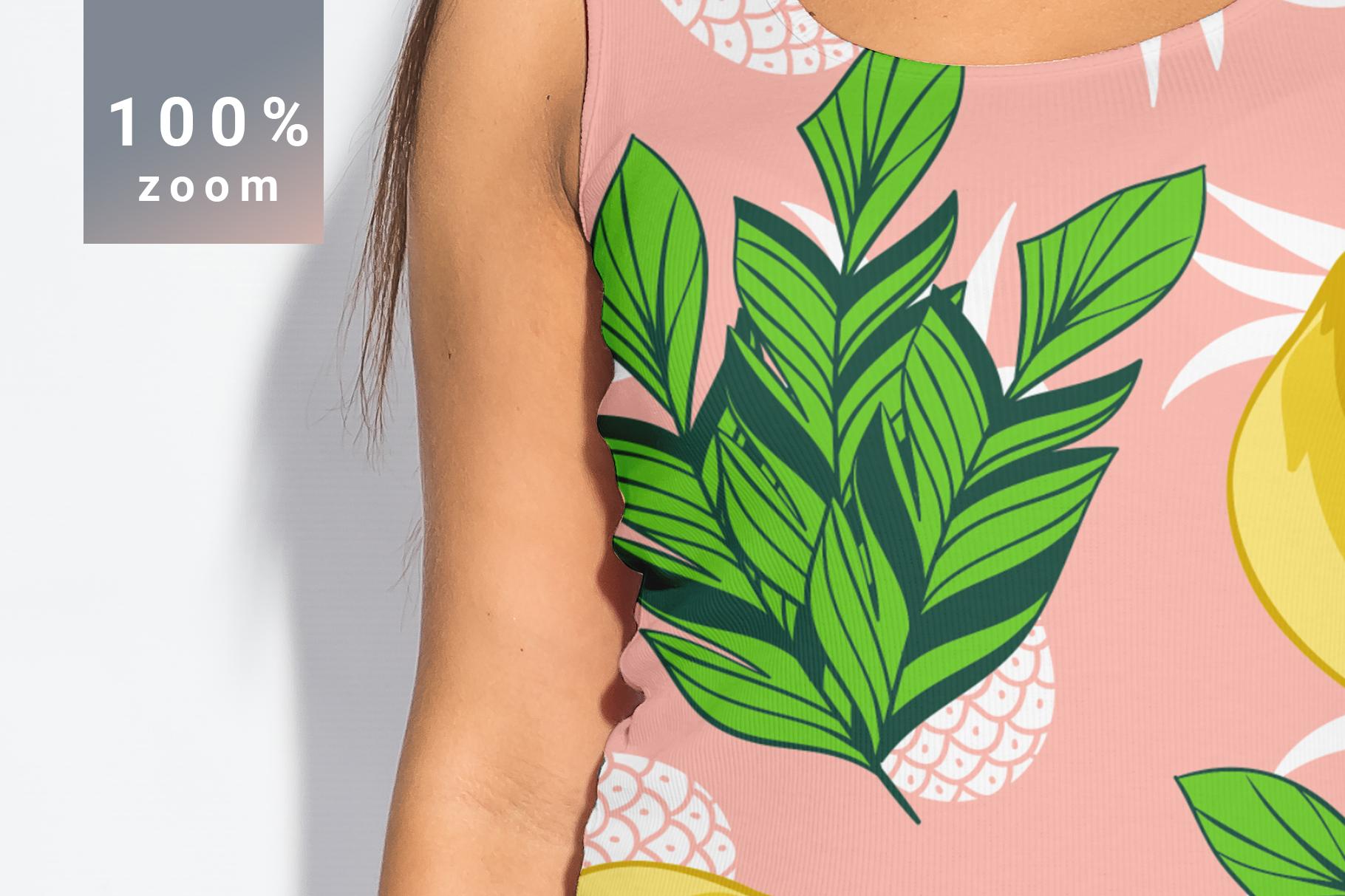 Plus Size T-shirt Mockup Bundle example image 7