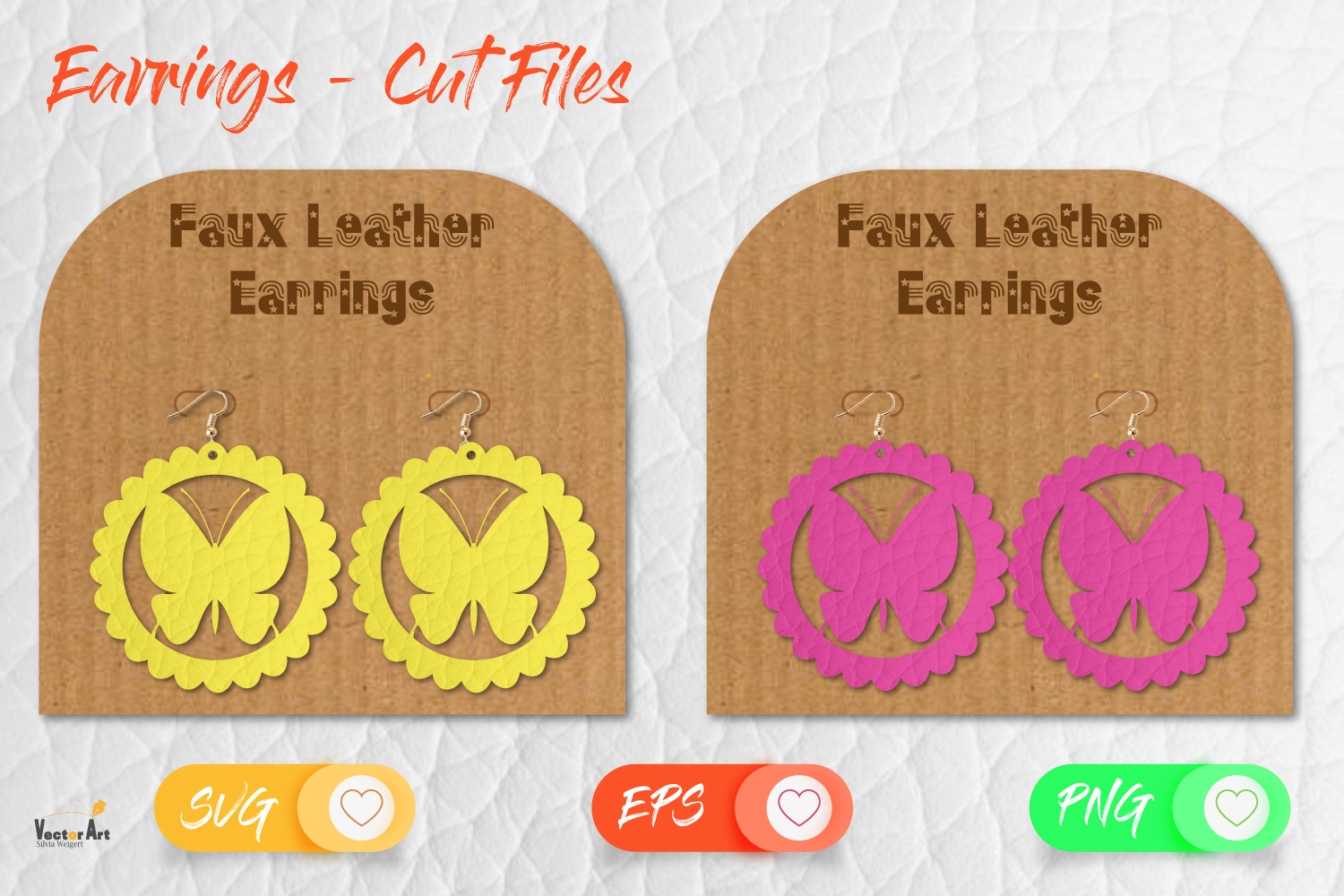 5 Earrings - Mini Bundle - Cut files example image 7