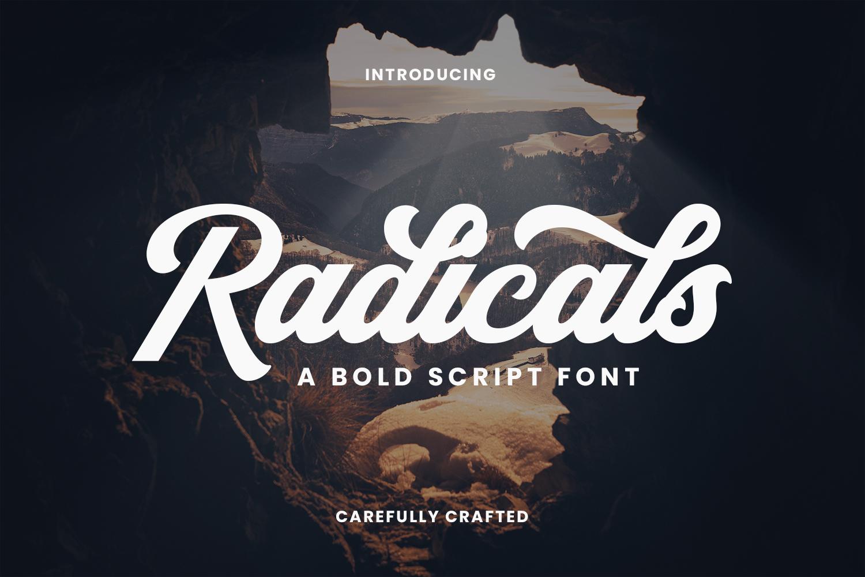 Radicals example image 1