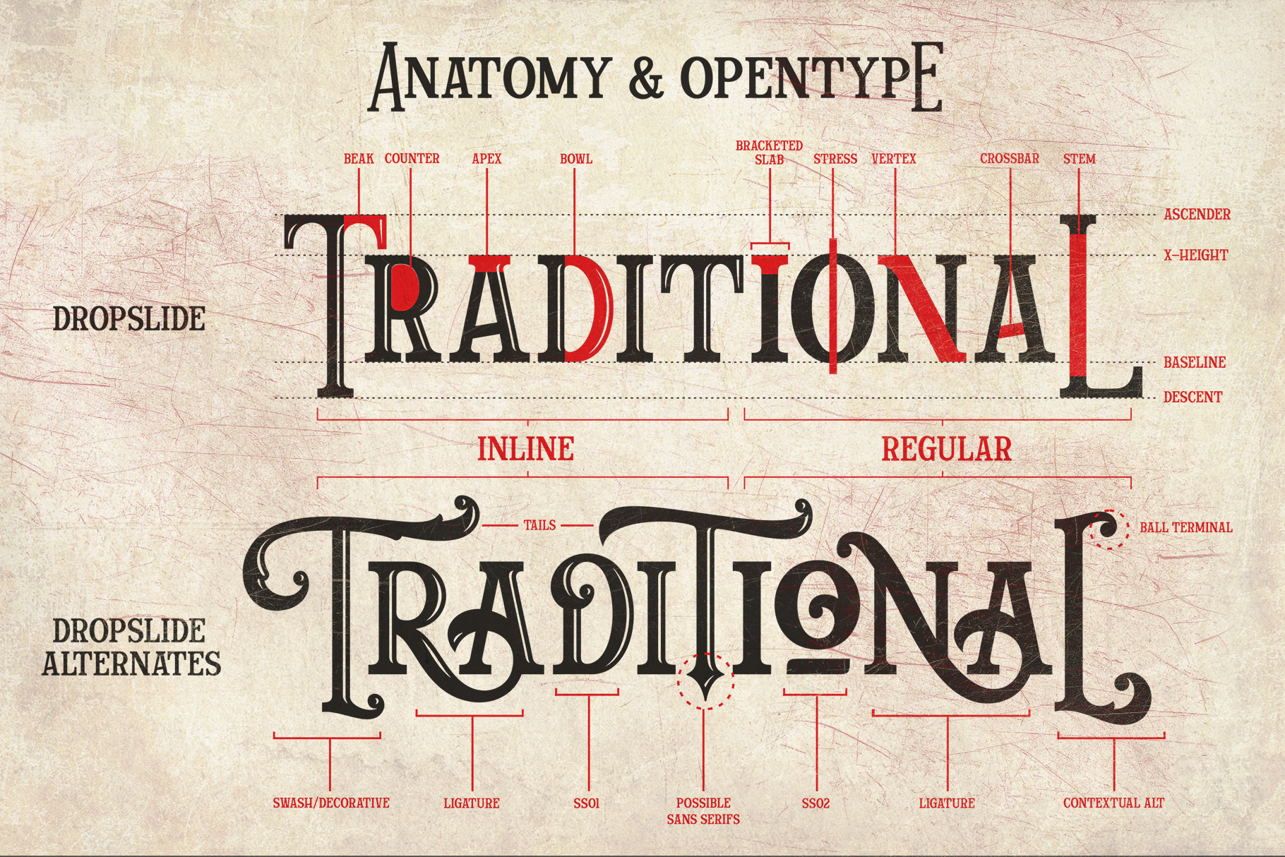 Dropslide Typeface example image 4