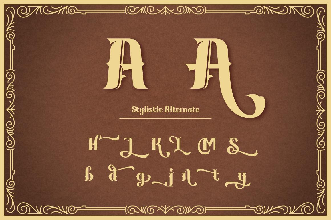 Kanjian Typeface example image 3