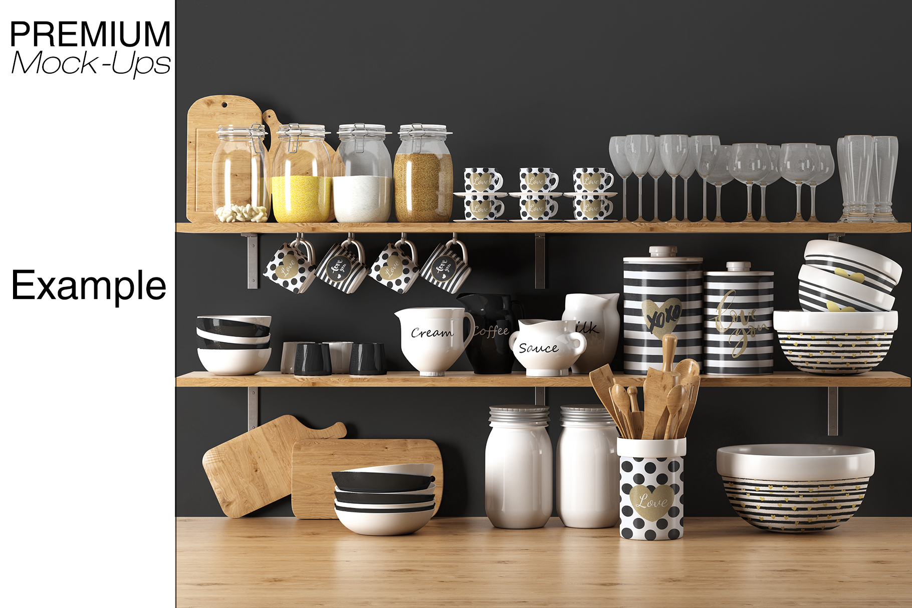 Kitchen Accessories Set example image 15